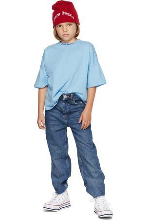 Palm Angels Short Sleeve - Kids Logo T-Shirt