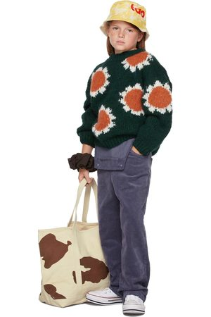 The Animals Observatory Kids Flowers Bull Sweater