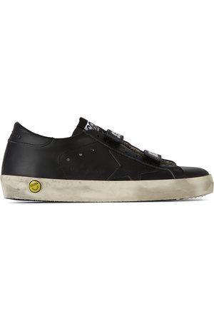 Golden Goose Kids Old School Velcro Sneakers