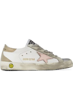 Golden Goose Kids Super-Star Classic Spur Sneakers