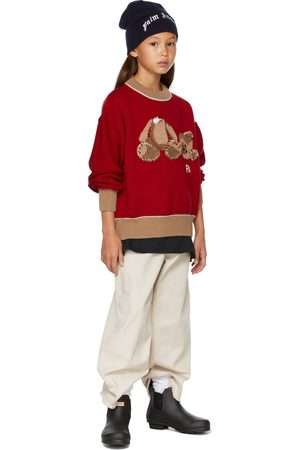 Palm Angels Jumpers - Kids & Bear Sweater