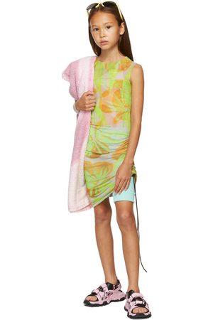 Louisa Ballou Accessories - SSENSE Exclusive Kids Green Heatwave Dressd