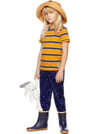 Mini Rodini Kids & Navy Stripe T-Shirt