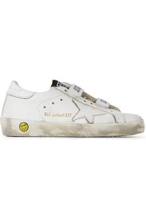 Golden Goose Sneakers - Kids Old School Velcro Sneakers
