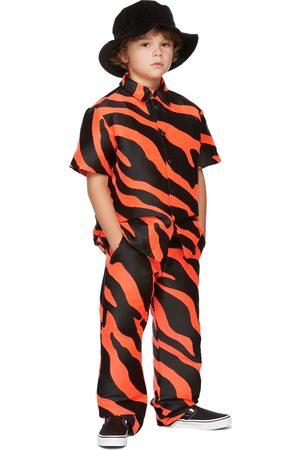 BO(Y)SMANS Kids & Black Zebra Short Sleeve Shirt