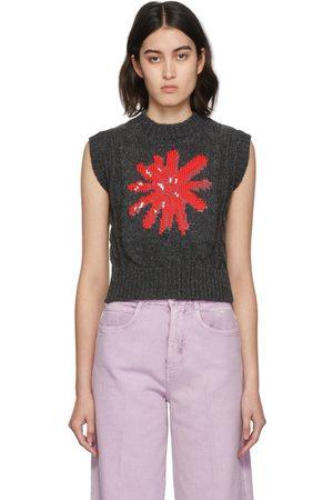 MERYLL ROGGE Daisy Cable Knit Vest