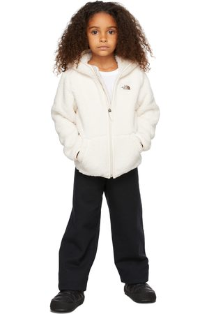 The North Face Hoodies - Kids White Fleece Campshire Hoodie