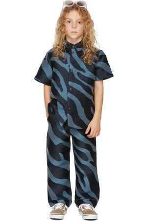 BO(Y)SMANS Short sleeves - Kids Zebra Short Sleeve Shirt