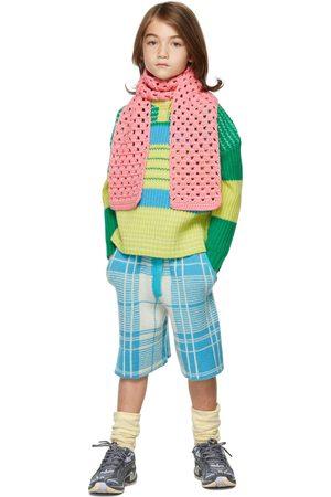 Ligne Noire Jumpers - Kids & Blue Virgin Wool Stripe Sweater