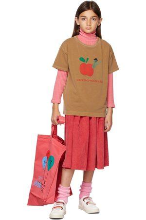 Weekend House Kids Short Sleeve - Kids Tan Apple T-Shirt