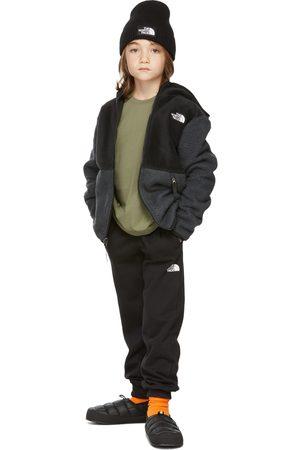 The North Face Hoodies - Kids Black & Grey Forrest Full Zip Hoodie