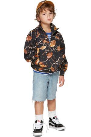 Molo Kids Camo Mads Half-Zip Sweater