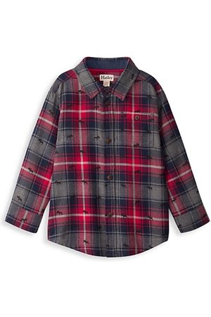 Hatley Boys Shirts - Little Boy's & Boy's Plaid Moose-Print Shirt