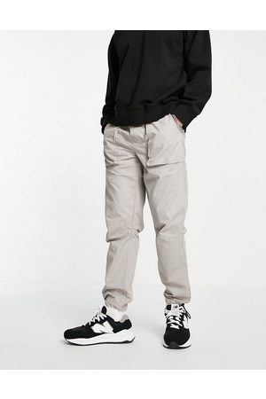 Topman Relaxed bungee trousers in
