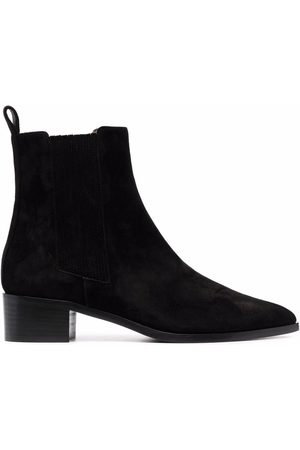 Scarosso Olivia leather ankle boots