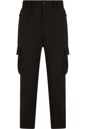 Dolce & Gabbana Mid-rise wool cargo trousers