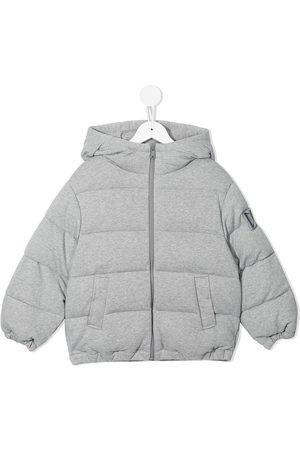 Dolce & Gabbana Cotton padded puffer jacket
