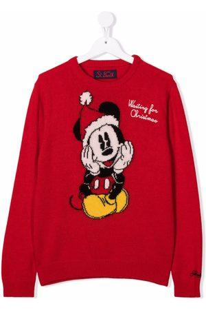 MC2 SAINT BARTH TEEN Mickey intarsia jumper