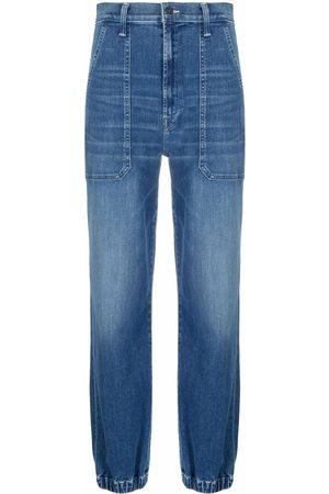Mother Straight-leg denim jeans