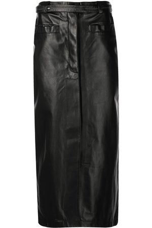 Proenza Schouler Leather Wrap Skirt