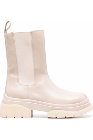Ash Storm ankle leather boots