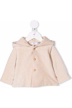 KNOT Tender Velvet striped coat