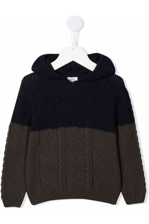 KNOT Herbet cable-knit hoodie