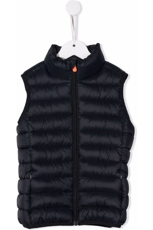 save the duck Logo-patch feather down gilet