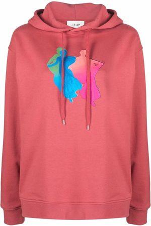 Kirin Graphic-print hoodie