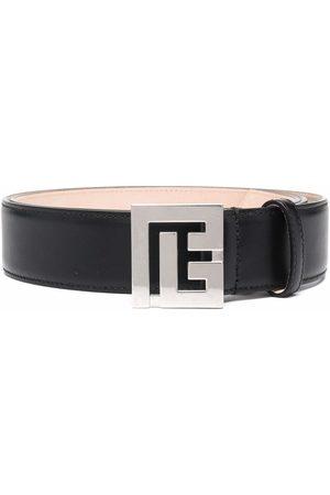 Balmain Monogram-buckle belt