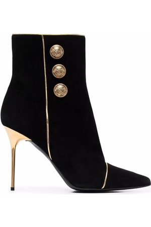 Balmain Robin suede ankle boots