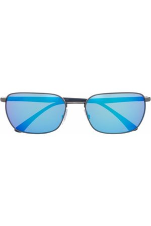 Ray-Ban Mirrored rectangle-frame sunglasses