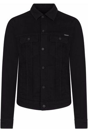 Dolce & Gabbana Camp collar denim jacket