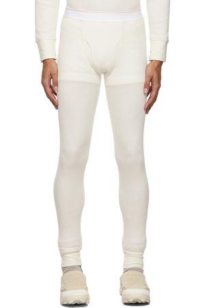 Calvin Klein Men Pyjamas - White Season 2 Long John Pyjamas