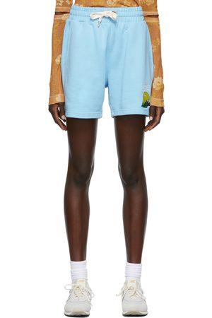 Casablanca Women Shorts - Embroidered Lounge Shorts