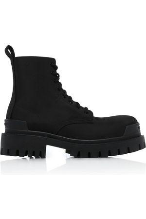 Balenciaga Women's Strike Nylon Ankle Boots
