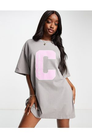 The Couture Club Women Casual Dresses - Oversized t-shirt dress in