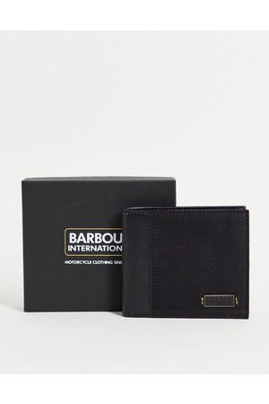 Barbour Leather wax wallet in