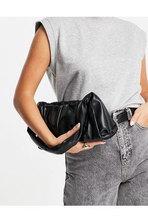 ASOS Shoulder bag with ruched detail in