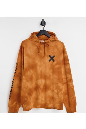 COLLUSION Unisex hoodie in tie dye