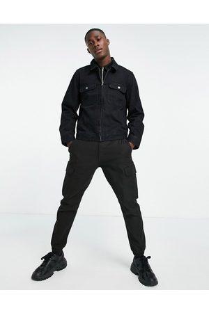 Topman Washed zip through jacket