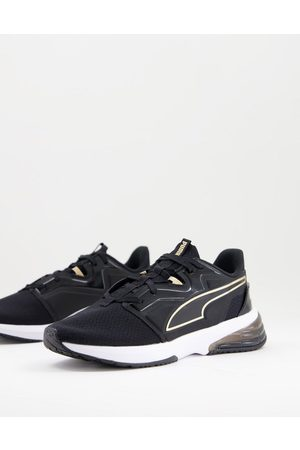 PUMA Training LVL-UP XT trainers in and gold