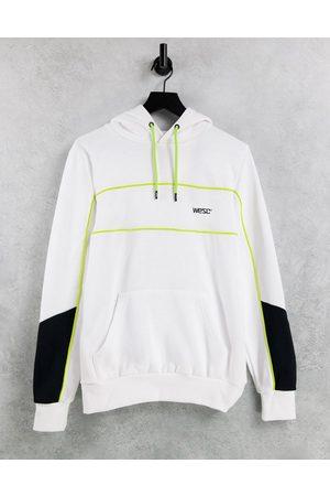 WeSC Mike paneled hoodie