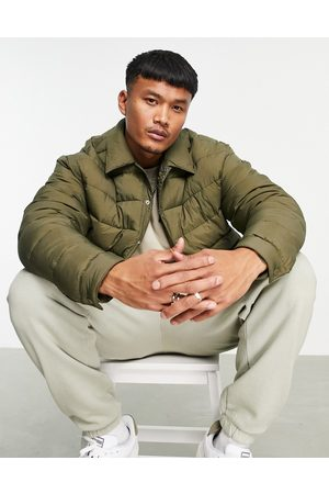 ASOS Quilted jacket in khaki
