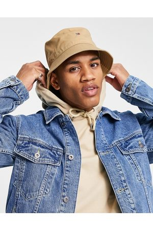 Tommy Hilfiger Small flag logo bucket hat in -Neutral