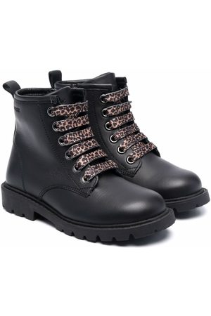 Geox Lace-up leather boots