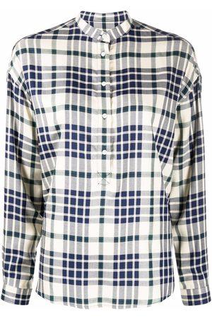 Woolrich Check-print long-sleeved shirt