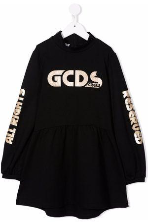 GCDS TEEN logo print dress