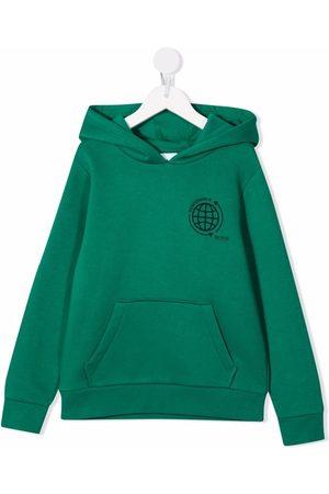 HUGO BOSS Chest logo-print hoodie