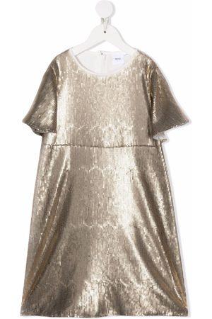 HUGO BOSS Sequin-embellished midi dress